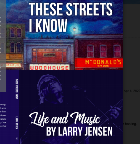 These Streets I Know, Larry Jensen book
