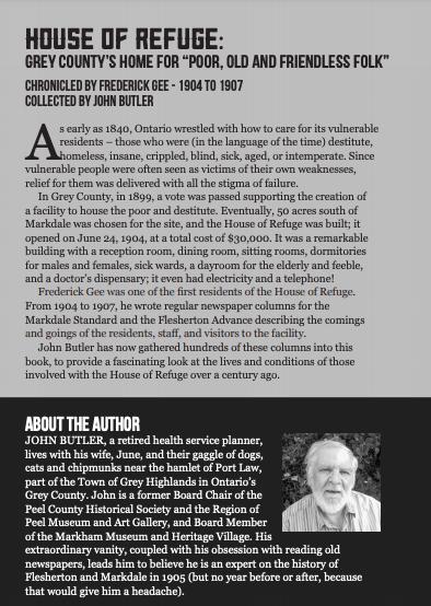 House of Refuge, John Butler